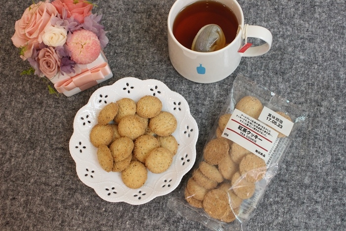 MUJI 無印良品 伯爵紅茶餅乾 (1)