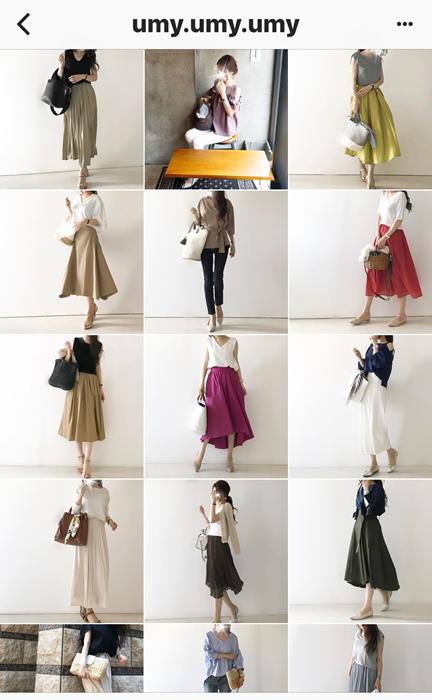 我追蹤的日本主婦IG穿搭-Uniqlo GU 每日穿搭 Instagram Instagramer(29)