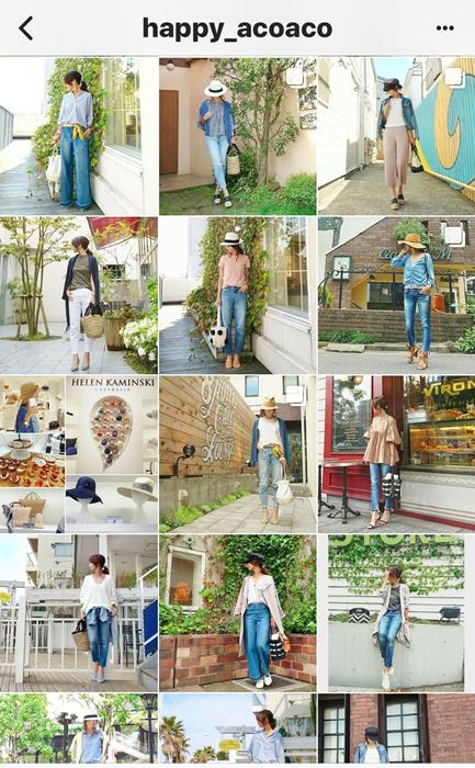 我追蹤的日本主婦IG穿搭-Uniqlo GU 每日穿搭 Instagram Instagramer(33)