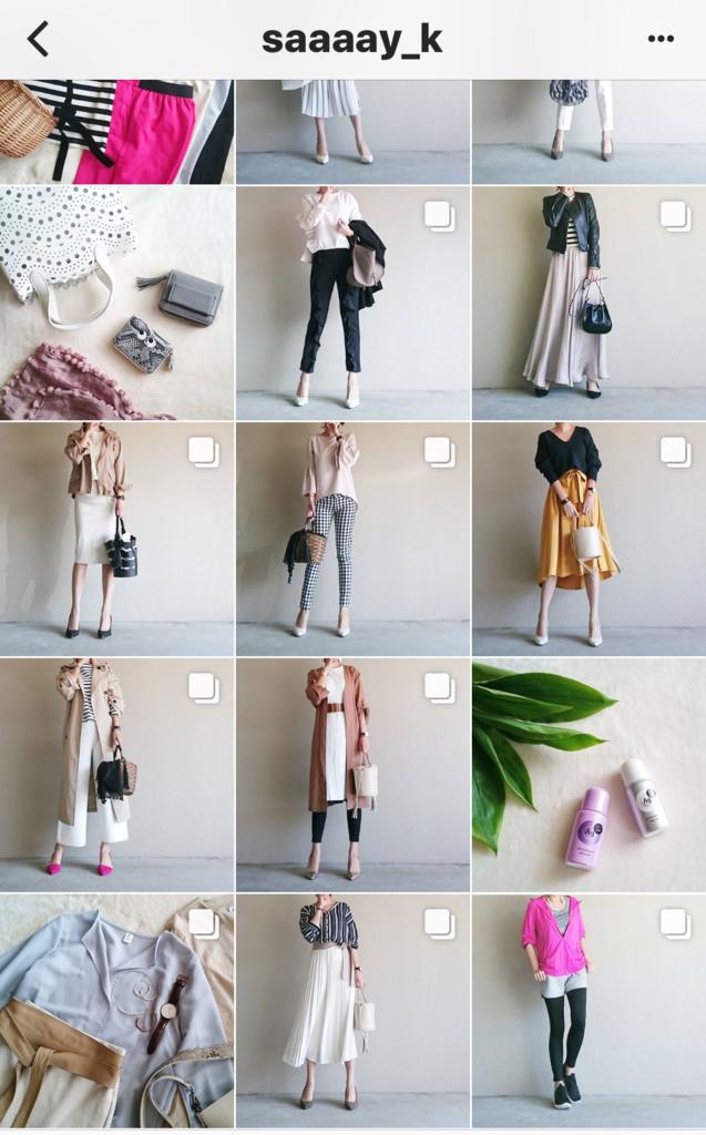 我追蹤的日本主婦IG穿搭-Uniqlo GU 每日穿搭 Instagram Instagramer(20)