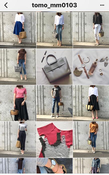 我追蹤的日本主婦IG穿搭-Uniqlo GU 每日穿搭 Instagram Instagramer(35)
