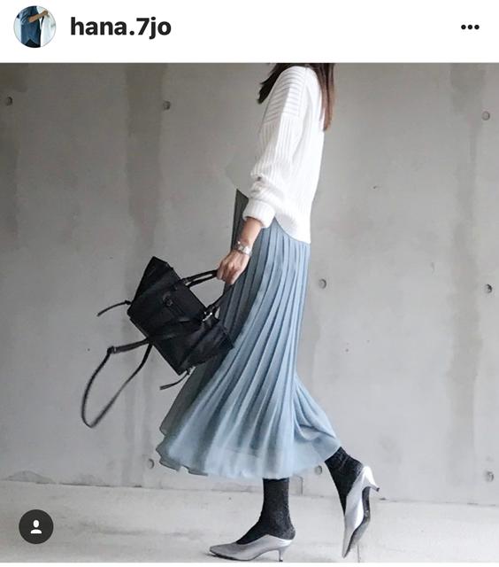 我追蹤的日本主婦IG穿搭-Uniqlo GU 每日穿搭 Instagram Instagramer(41)