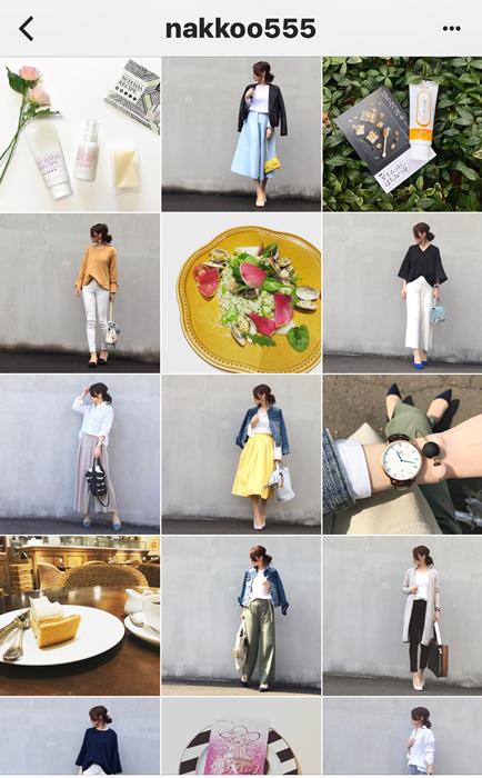 我追蹤的日本主婦IG穿搭-Uniqlo GU 每日穿搭 Instagram Instagramer(44)