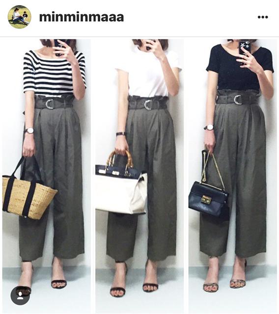 我追蹤的日本主婦IG穿搭-Uniqlo GU 每日穿搭 Instagram Instagramer(55)