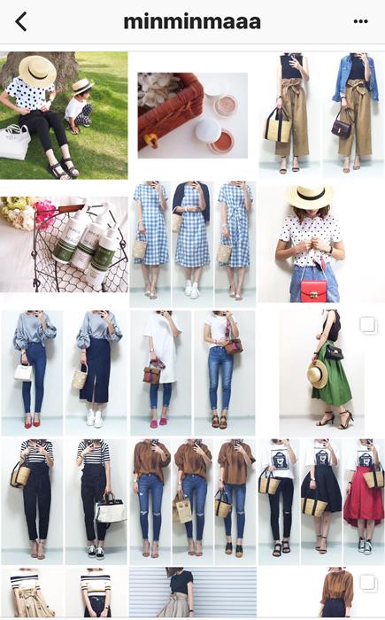 我追蹤的日本主婦IG穿搭-Uniqlo GU 每日穿搭 Instagram Instagramer(49)