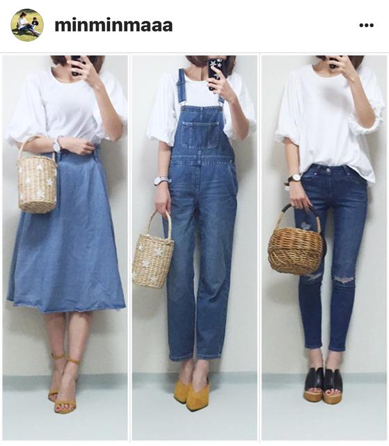 我追蹤的日本主婦IG穿搭-Uniqlo GU 每日穿搭 Instagram Instagramer(51)