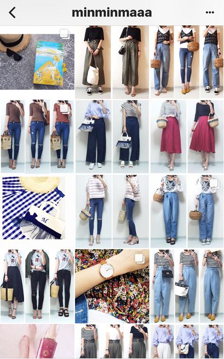 我追蹤的日本主婦IG穿搭-Uniqlo GU 每日穿搭 Instagram Instagramer(50)