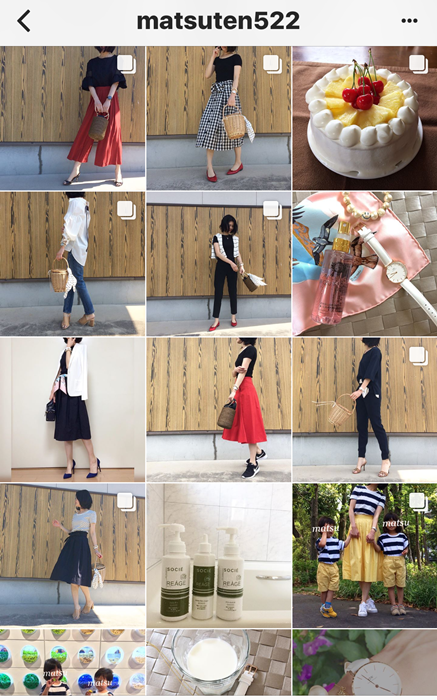 我追蹤的日本主婦IG穿搭-Uniqlo GU 每日穿搭 Instagram Instagramer(57)