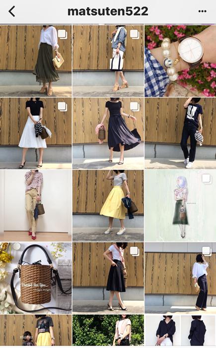 我追蹤的日本主婦IG穿搭-Uniqlo GU 每日穿搭 Instagram Instagramer(58)