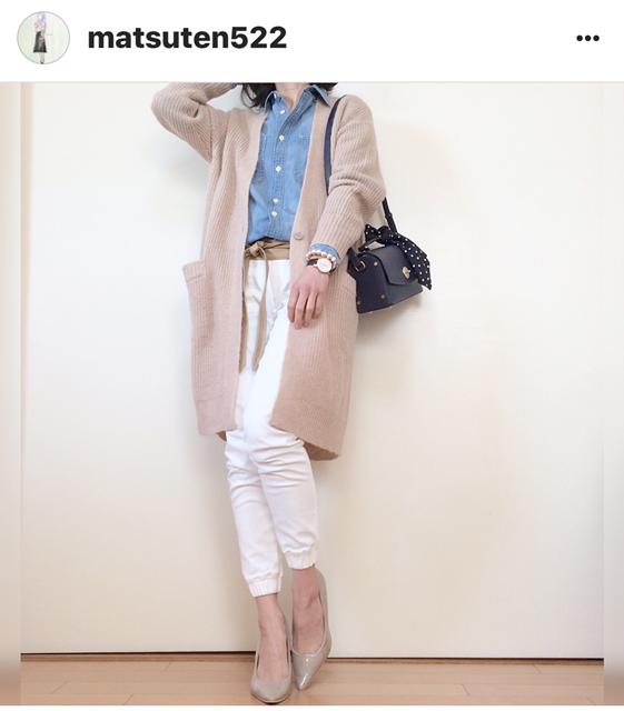 我追蹤的日本主婦IG穿搭-Uniqlo GU 每日穿搭 Instagram Instagramer(63)