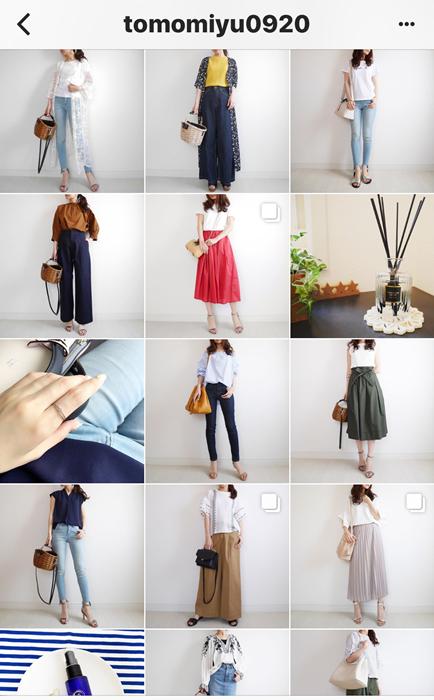 我追蹤的日本主婦IG穿搭-Uniqlo GU 每日穿搭 Instagram Instagramer(65)
