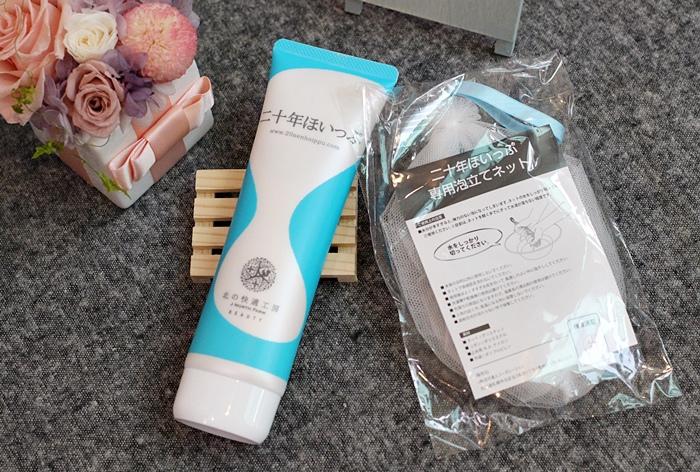 日本北海道二十年牛奶泡洗面乳-日本製 -Japan-北的快適工房乳清成分-泡沫洗臉不拉扯肌膚-保濕去除污垢(74)