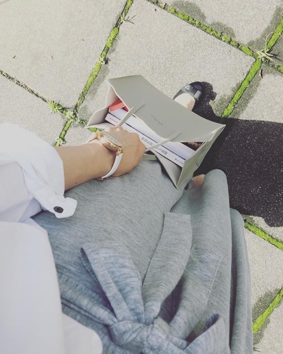 日雜贈品包-With 2017年5月號 日雜附錄 雜誌附錄 mila owen 灰色手提包 石原里美 (8)