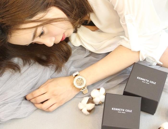 Kenneth Cole 情人節對錶 機械錶 男女對錶 情侶對錶 美國設計師品牌 穿搭 (64)