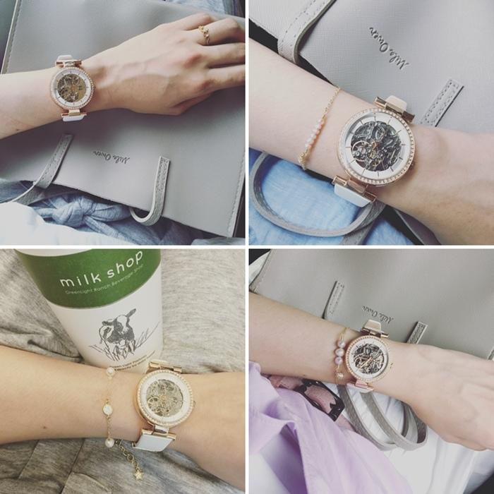 Kenneth Cole 情人節對錶 機械錶 男女對錶 情侶對錶 美國設計師品牌 穿搭 (2)