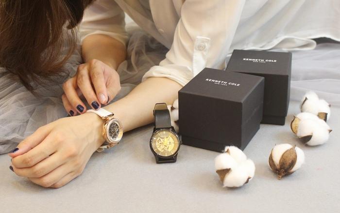 Kenneth Cole 情人節對錶 機械錶 男女對錶 情侶對錶 美國設計師品牌 穿搭 (71)