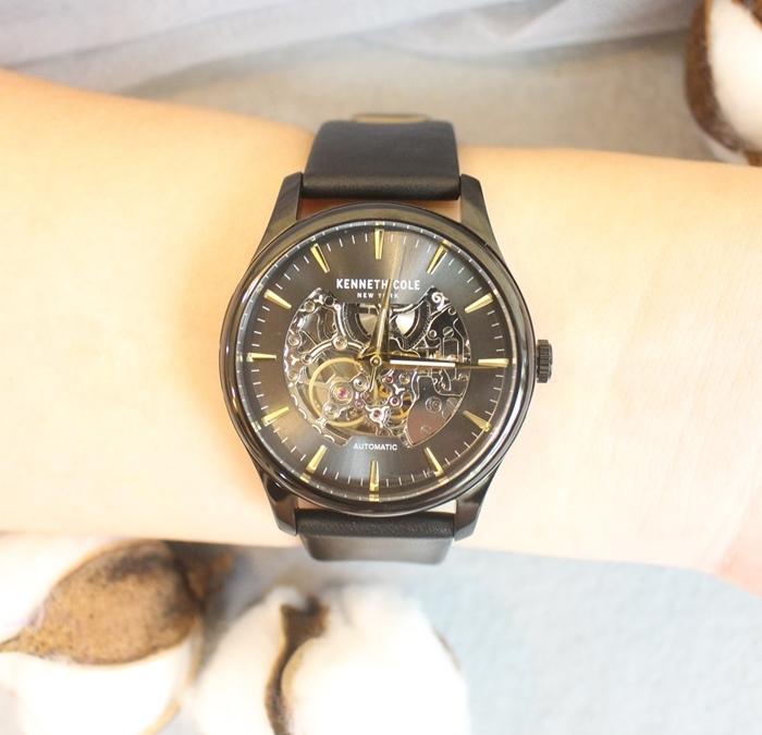 Kenneth Cole 情人節對錶 機械錶 男女對錶 情侶對錶 美國設計師品牌 穿搭 (91)