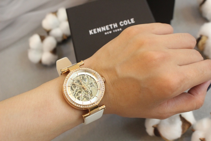 Kenneth Cole 情人節對錶 機械錶 男女對錶 情侶對錶 美國設計師品牌 穿搭 (63)
