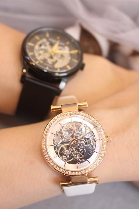 Kenneth Cole 情人節對錶 機械錶 男女對錶 情侶對錶 美國設計師品牌 穿搭 (84)