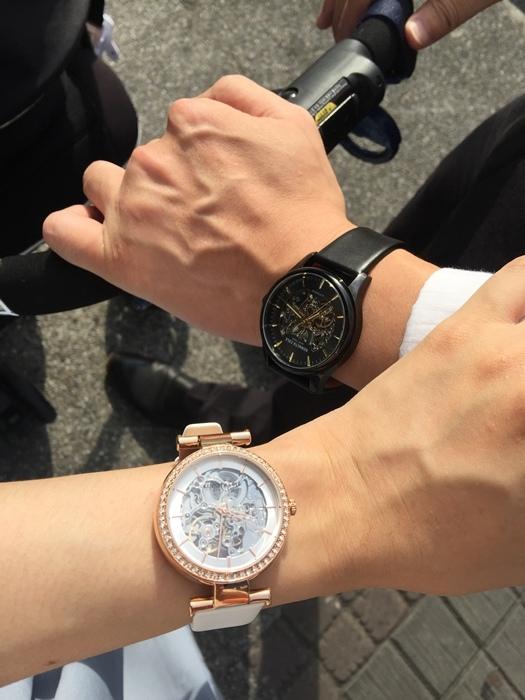 Kenneth Cole 情人節對錶 機械錶 男女對錶 情侶對錶 美國設計師品牌 穿搭 (22)