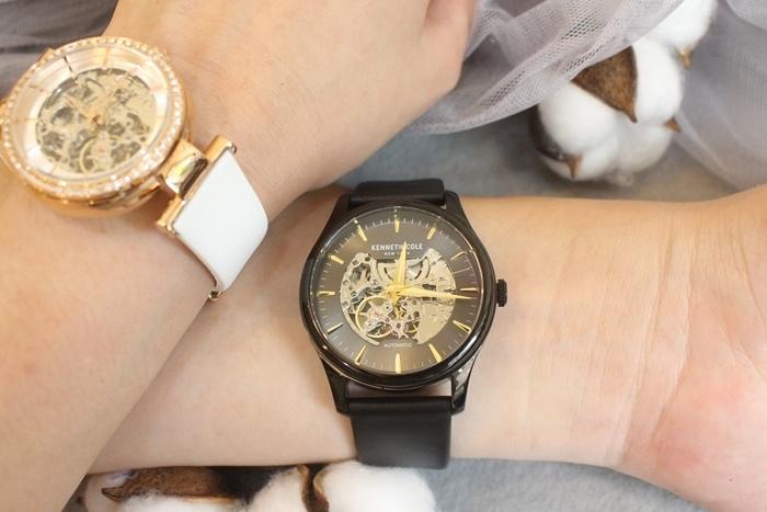 Kenneth Cole 情人節對錶 機械錶 男女對錶 情侶對錶 美國設計師品牌 穿搭 (1)