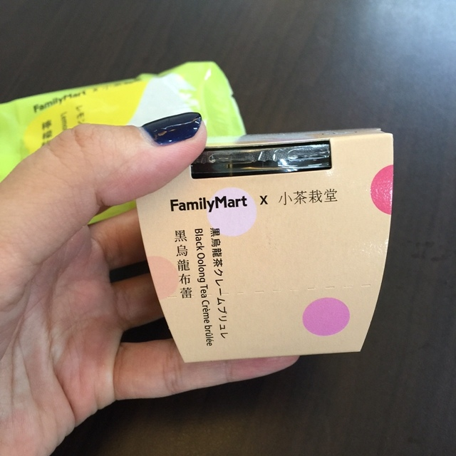 小茶栽堂 全家便利商店 Familymart 黑烏龍布蕾 檸檬綠茶餅乾 下午茶點心 小茶栽堂茶捲 (3)