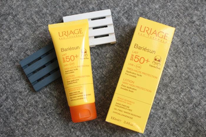 URIAGE 優麗雅 全護高效兒童防曬乳液SPF50+ 康是美 藥妝 皮膚科醫師推薦 (4)