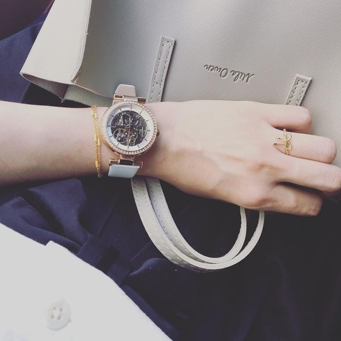 Kenneth Cole 情人節對錶 機械錶 男女對錶 情侶對錶 美國設計師品牌 穿搭 情人節送禮推薦 (1)