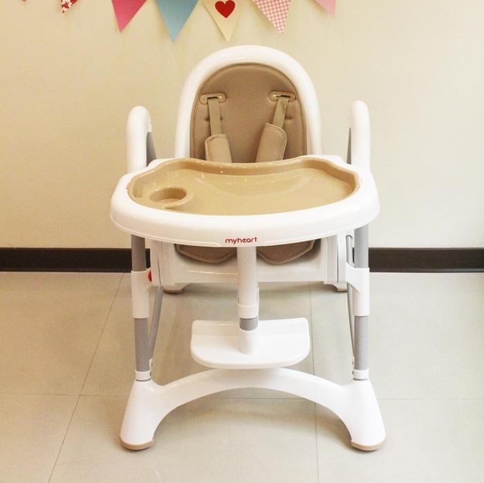 Myheart餐椅 媽咪最推薦 MIT 可折疊餐椅 兒童餐椅 嬰兒餐椅 (83)