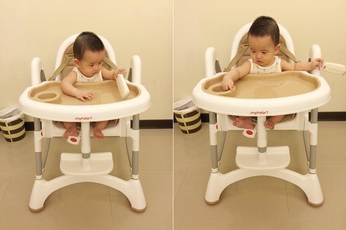 Myheart餐椅 媽咪最推薦 MIT 可折疊餐椅 兒童餐椅 嬰兒餐椅 (51)