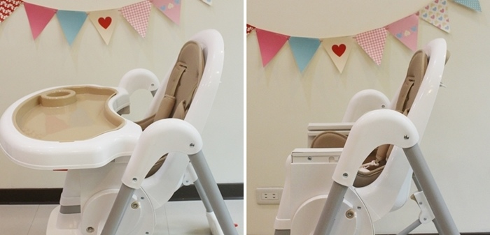 Myheart餐椅 媽咪最推薦 MIT 可折疊餐椅 兒童餐椅 嬰兒餐椅 (47)