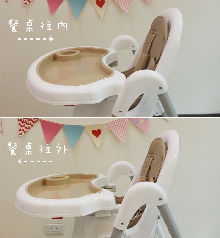 Myheart餐椅 媽咪最推薦 MIT 可折疊餐椅 兒童餐椅 嬰兒餐椅 (5311111)