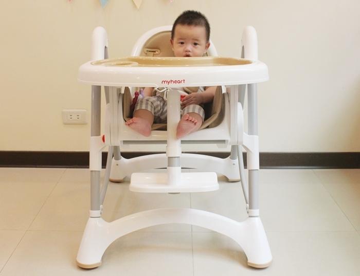 Myheart餐椅 媽咪最推薦 MIT 可折疊餐椅 兒童餐椅 嬰兒餐椅 (66)