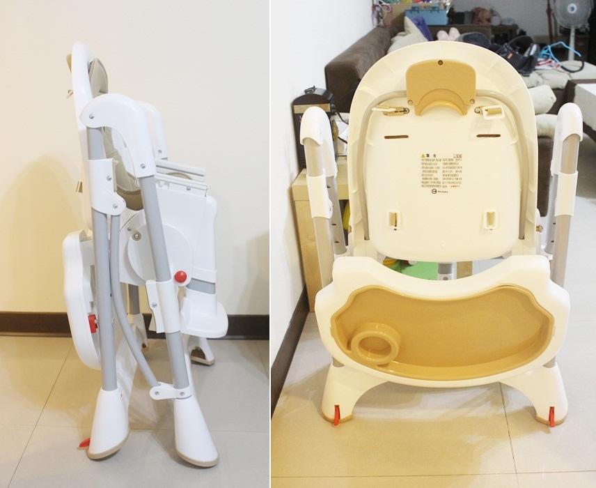 Myheart餐椅 媽咪最推薦 MIT 可折疊餐椅 兒童餐椅 嬰兒餐椅 (8311)
