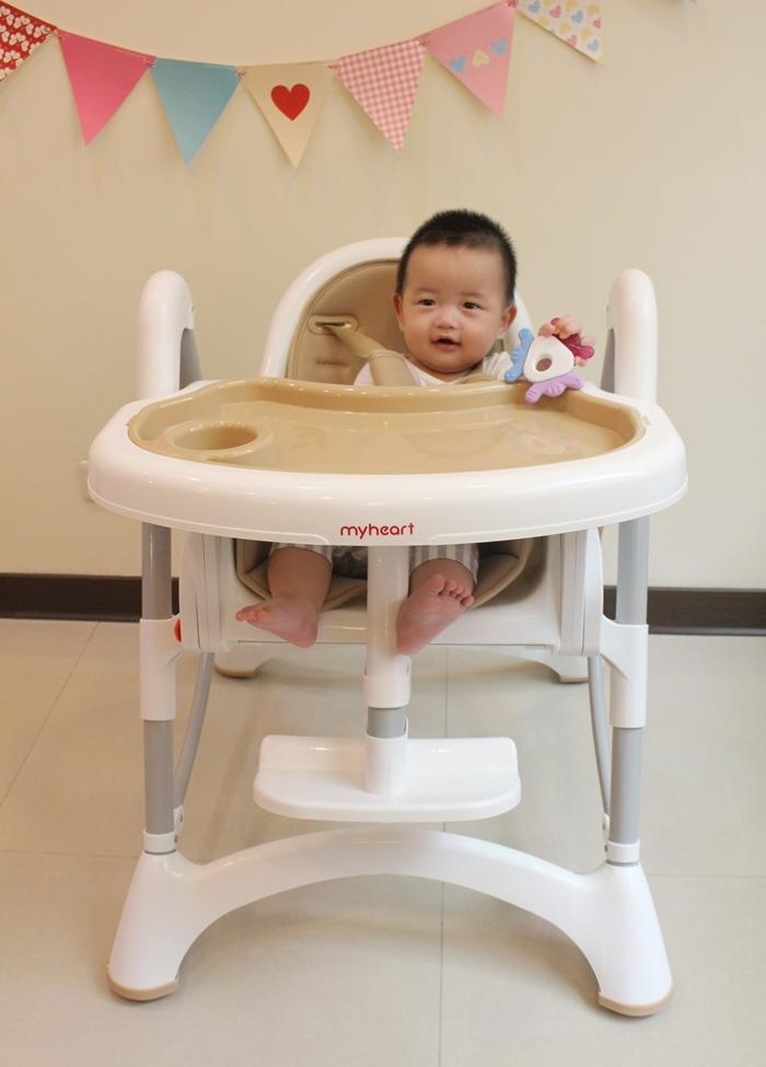 Myheart餐椅 媽咪最推薦 MIT 可折疊餐椅 兒童餐椅 嬰兒餐椅 (73)