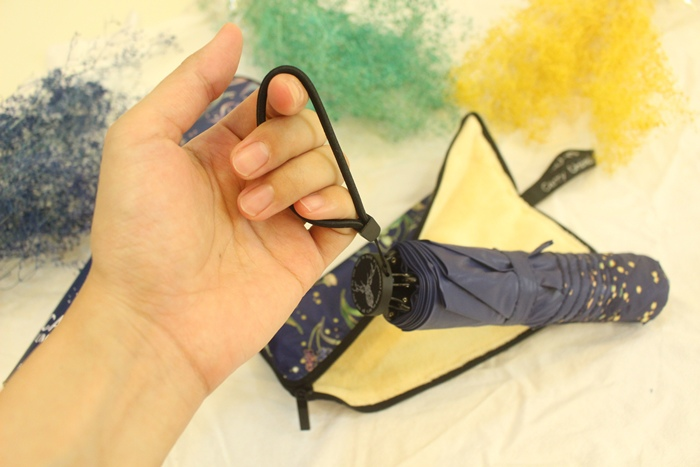 Carry Umbrella 折傘三折傘摺疊傘輕量折傘碳纖維雨傘140g超輕折傘MOOSE碳纖折傘星夜風鈴 (112)