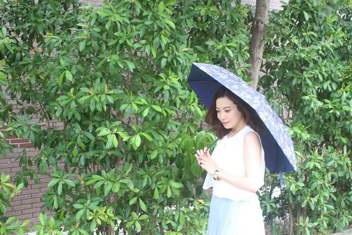 Carry Umbrella 折傘三折傘摺疊傘輕量折傘碳纖維雨傘140g超輕折傘MOOSE碳纖折傘星夜風鈴 (124)