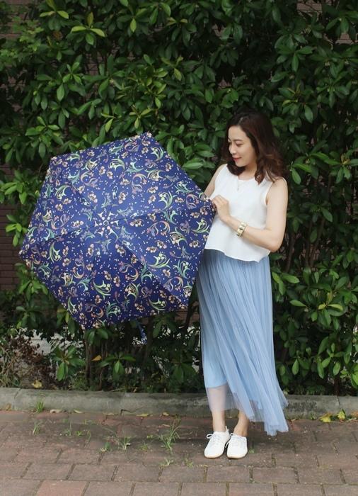 Carry Umbrella 折傘三折傘摺疊傘輕量折傘碳纖維雨傘140g超輕折傘MOOSE碳纖折傘星夜風鈴 (144)
