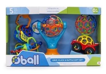 Costco育兒好物兒童玩具嬰兒玩具-Oball組Oball禮盒 (1)