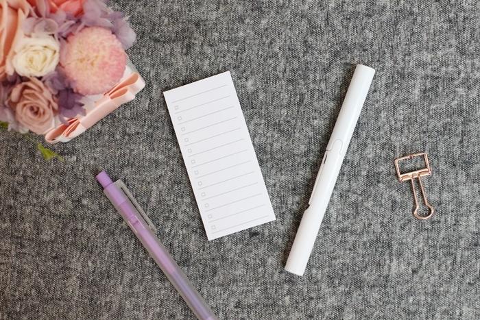無印良品 MUJI 文具 推薦 蒐集 膠帶台 膠墨筆 PP鉛筆盒 備忘錄 to fo list 雙頭色筆 (6)