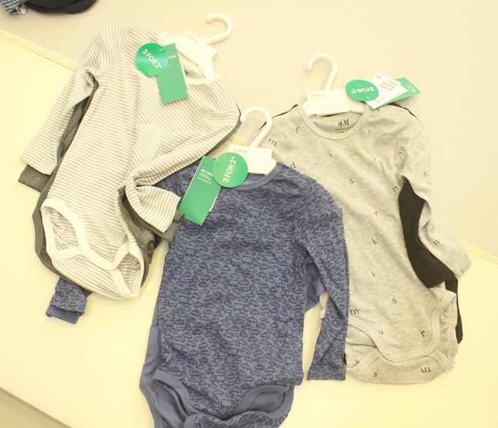 H&M 童裝 嬰兒衣物 購物戰利品 寶寶衣物 兒童衣物 包屁衣 西門旗艦店 打折好好買(35)