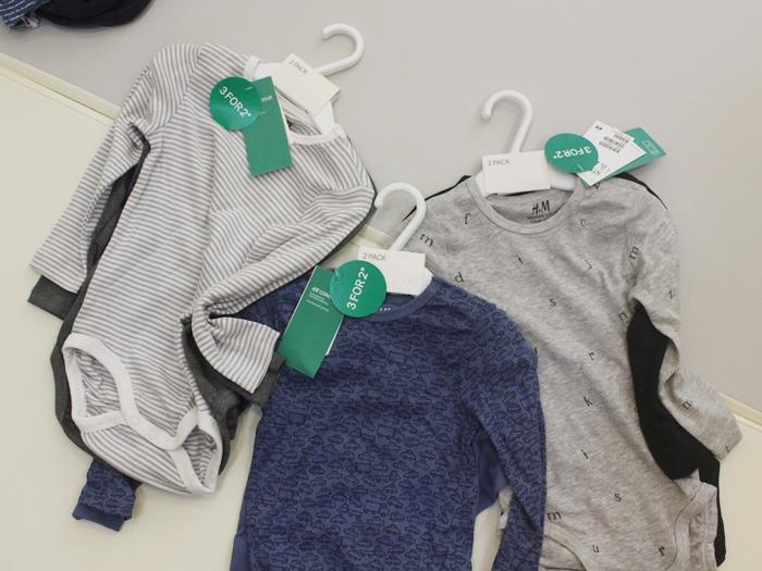 H&M 童裝 嬰兒衣物 購物戰利品 寶寶衣物 兒童衣物 包屁衣 西門旗艦店 打折好好買(20)
