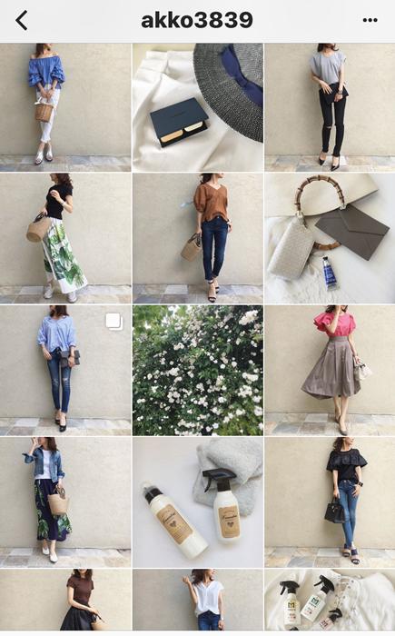 我追蹤的日本主婦IG穿搭-Uniqlo GU 每日穿搭 Instagram Instagramer(22)