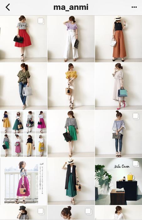 我追蹤的日本主婦IG穿搭-Uniqlo GU 每日穿搭 Instagram Instagramer(48)