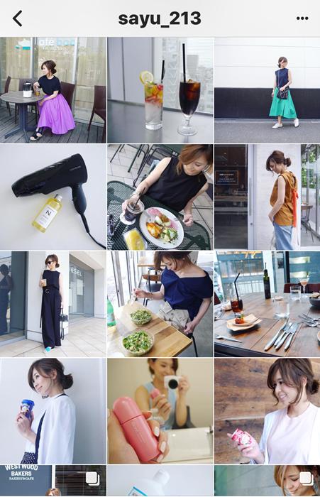 我追蹤的日本主婦IG穿搭-Uniqlo GU 每日穿搭 Instagram Instagramer(43)