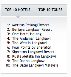 top hotels langkawi