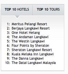 top hotels langkawi