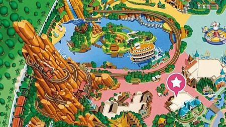 迪士尼鑽石馬蹄餐廳位置.jpg