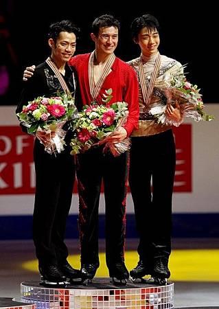 2012FS世錦賽-MenLP-金銀銅-Patrick陳-高橋-羽生