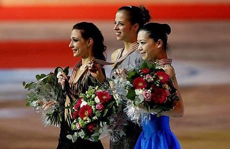 2012FS世錦賽-LadiesLP-金銀銅-CarolinaKostner-AlenaLeonova-AkikoSuzuki